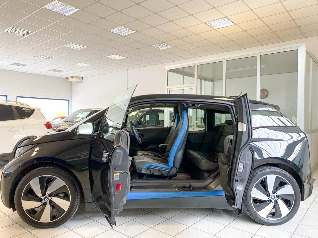 BMW3i rex laterale portiere aperte